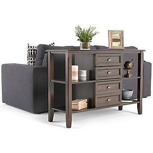 Simpli Home Burlington Console Sofa Table, , rollover