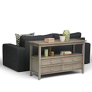 Simpli Home Warm Shaker Console Sofa Table, , rollover
