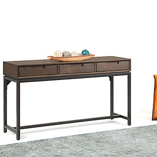 Simpli Home Banting Wide Console Table, , rollover
