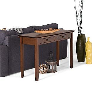 Simpli Home Artisan Wide Console Table, , rollover