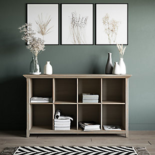 Simpli Home Amherst 8 Cube Storage Sofa Table, , rollover