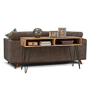 Simpli Home Hunter Console Sofa Table, , rollover