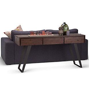 Simpli Home Lowry Console Sofa Table, , rollover