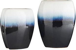 Surya Navy Decorative Vase (Set of 2), , large