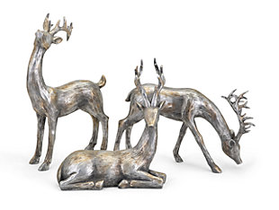Holiday Christmas Reindeer (Set of 3), , large