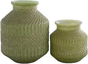 Surya Catalana Glass Vase (Set of 2), , rollover