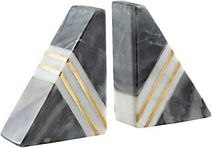 Surya Slate Stone Book End (set Of 2), , rollover