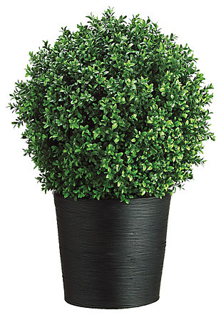 """30"""" Artificial Boxwood Topiary, , large"""