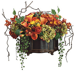 Assorted Floral Arrangement in Pot, , rollover