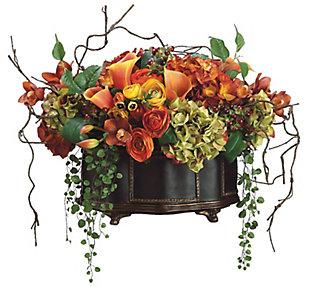 Assorted Floral Arrangement in Pot, , large