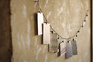 Holiday Chain Garland with Twelve Clips, , large