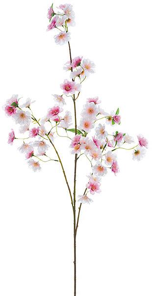 "49"" Pink Cherry Blossom Spray, , rollover"