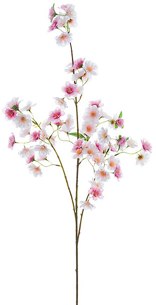 "49"" Pink Cherry Blossom Spray, , large"