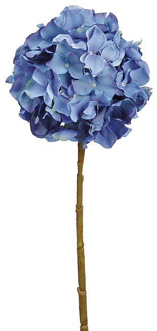 "21"" Blue Hydrangea Spray, , rollover"