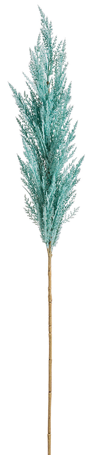 """46"""" Turquoise Pampas Grass Spray, , rollover"""