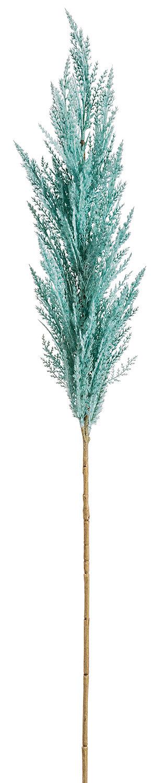 "46"" Turquoise Pampas Grass Spray, , large"