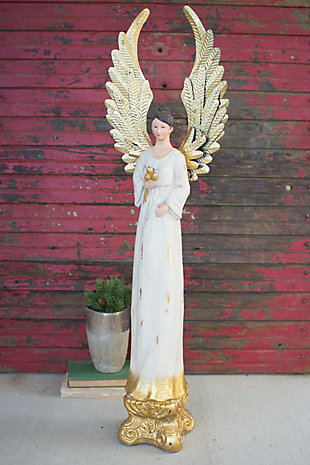 Holiday Tall Painted Angel, , large
