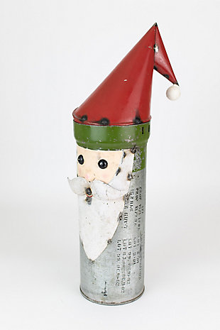 Holiday Recycled Military Canister Santa, , large
