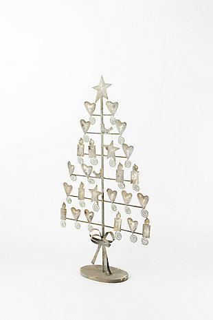 Holiday Metal Christmas Card Tree, , large