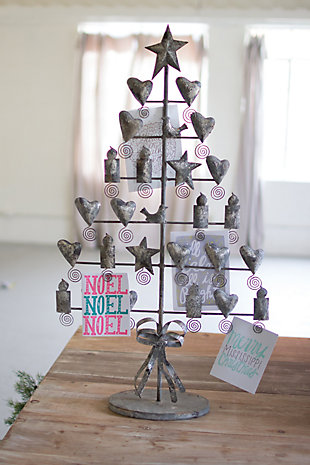Holiday Metal Christmas Card Tree, , rollover