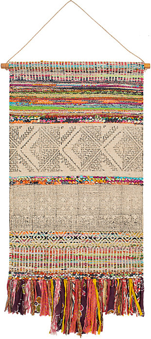 """Surya 48""""H x 29""""W Wall Hanging Tapestry, , large"""