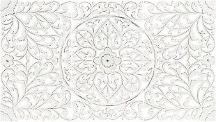 "Surya 28""H x 16""W, 28""H x 16""W, 28""H x 16""W Wall Art Piece, Ivory, large"