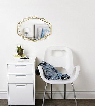 UMBRA Modern Brass Mirror, , rollover