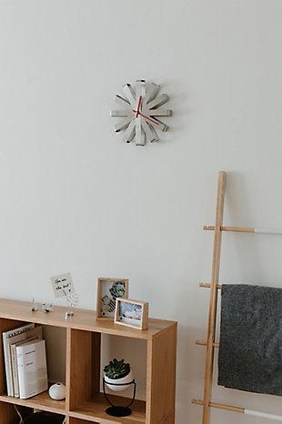 UMBRA Modern Steel Wall Clock, , rollover