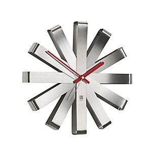 UMBRA Modern Steel Wall Clock, , large