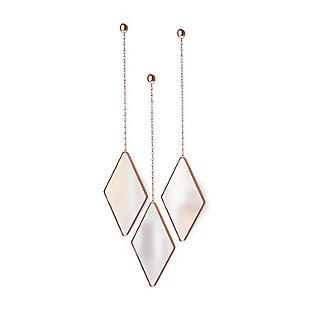 UMBRA 3 Diamond Copper Mirrors, , large