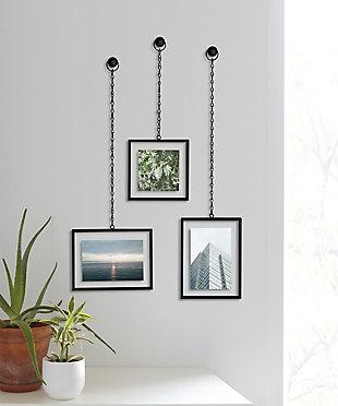 UMBRA Black Rectangular Hanging Frames, , rollover