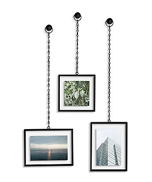 UMBRA Black Rectangular Hanging Frames, , large