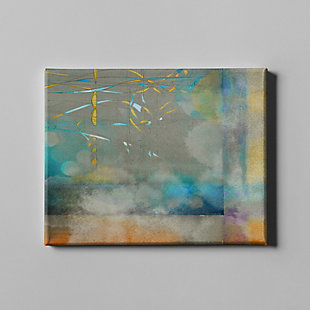 """PAF 40"""" x 30"""" Blue and Gray Giclee on Canvas, , large"""