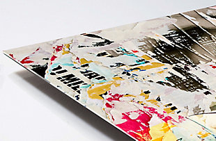 """PAF 48"""" x 32"""" Collage Reverse Printed Acrylic, , large"""