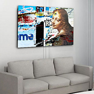 """PAF 40"""" x 30"""" Collage Giclee on Canvas, , rollover"""