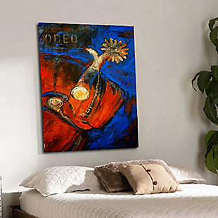 """PAF 30"""" x 40"""" Red and Blue Giclee on Canvas, , rollover"""