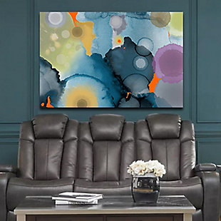 """PAF 54"""" x 38"""" Blue and Gray Giclee on Canvas, , rollover"""