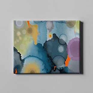 """PAF 54"""" x 38"""" Blue and Gray Giclee on Canvas, , large"""