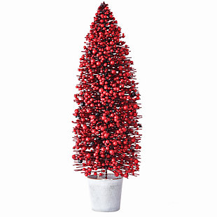 Holiday Berry Tree In Pot, , large