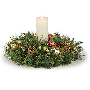 Holiday Highland Holiday 1 Candle Centerpiece, , rollover