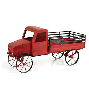 Holiday Vintage Toy Farm Truck, , large