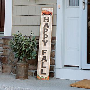 Happy Fall Porch Board with Truck, , rollover