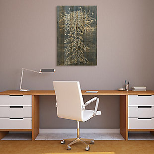 Empire Art Direct Flower I Arte de Legno Digital Print on Solid Wood Wall Art, , rollover