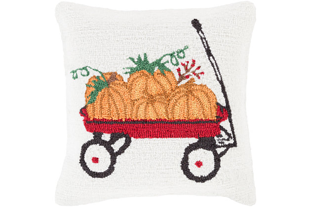 Fall Holiday Throw Pillow, , large