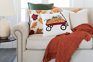 Fall Holiday Throw Pillow, , rollover