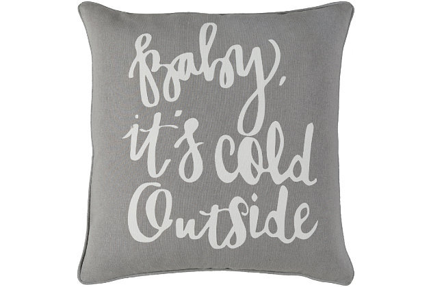 Holiday Throw Pillow, , large