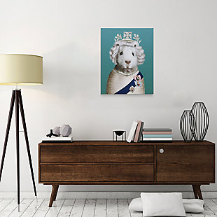 """Empire Art Direct """"HRH"""" Graphic Art on Wrapped Canvas Wall Art, , rollover"""