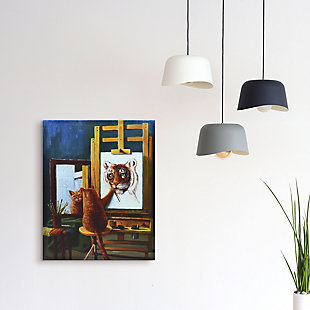 """Empire Art Direct """"Norman Catwell"""" Graphic Print on Wrapped Canvas Wall Art, , rollover"""