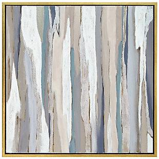 Empire Art Direct Gray Aisle Textured Metallic Hand Painted Wall Art, , large