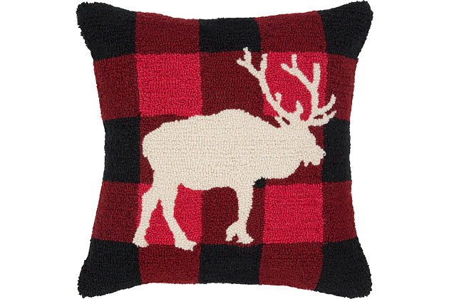 Winter Throw Pillow, , large